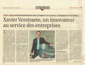 Inotek Development fait l'objet d'un article dans la presse