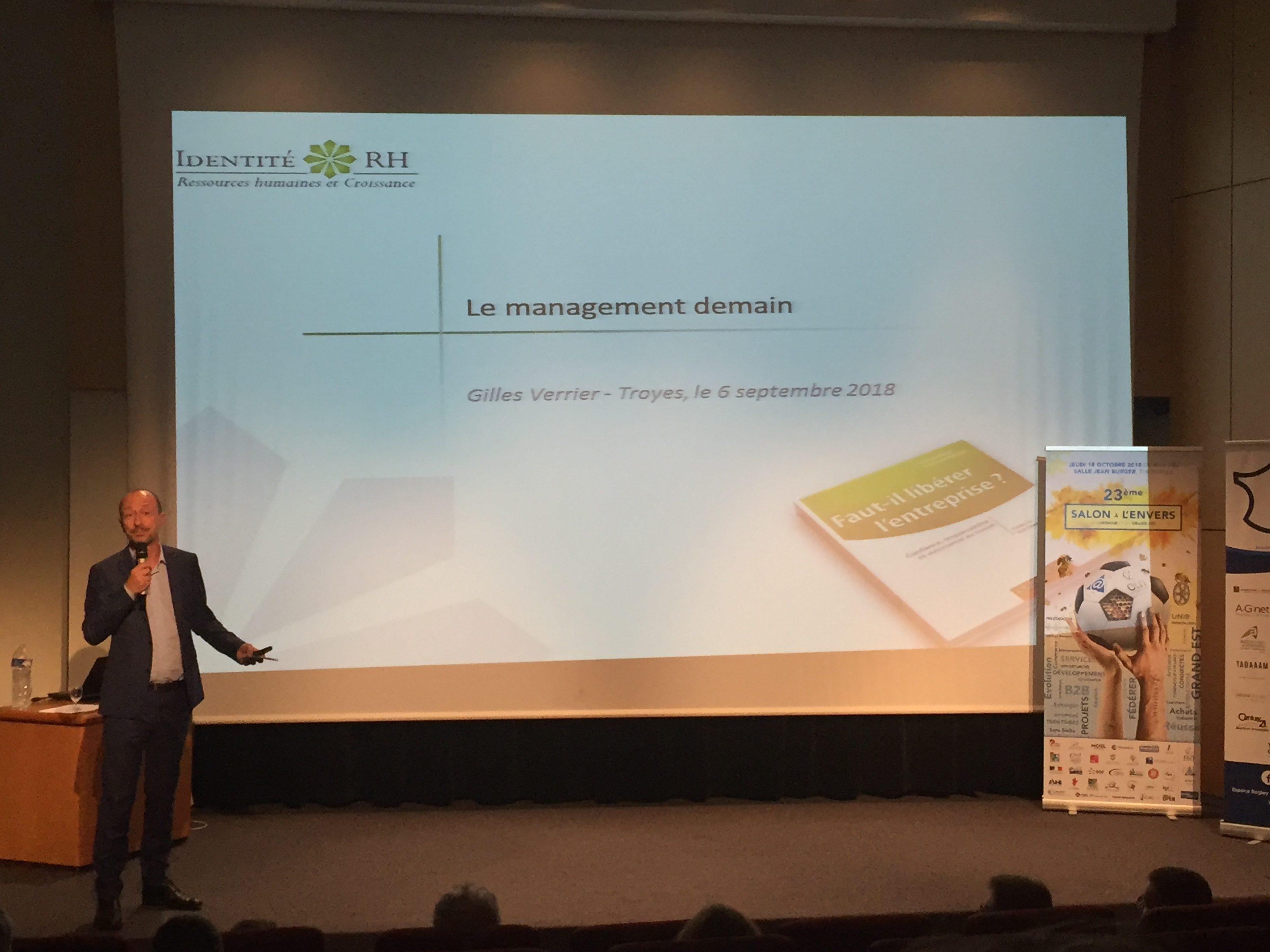 Le middle management, au cœur de la transformation des entreprises. Gilles Verrier - Troyes